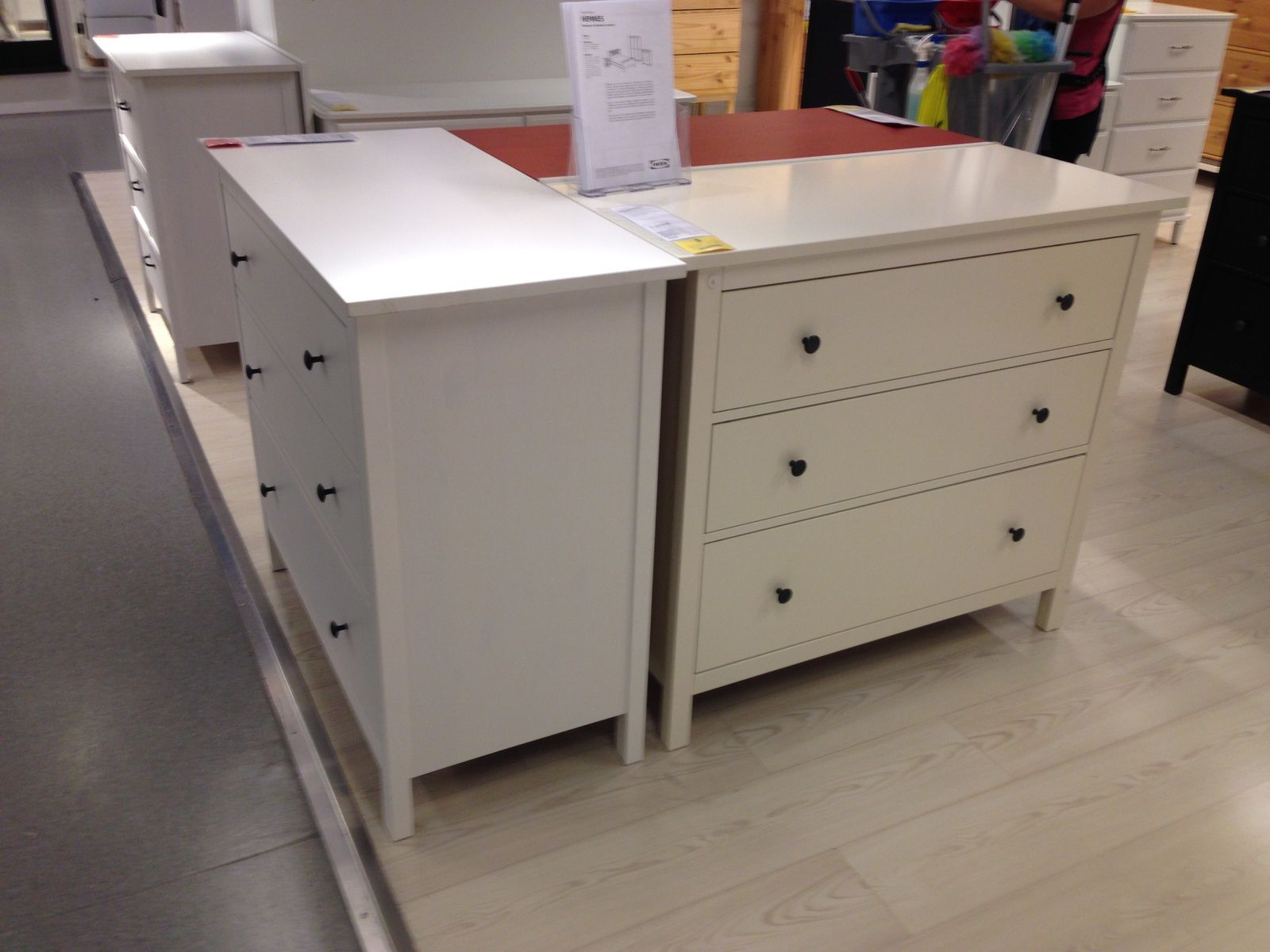 Ikea Hemnes Commode Ikea Hack Hemnes Ombre Painted Dresser With