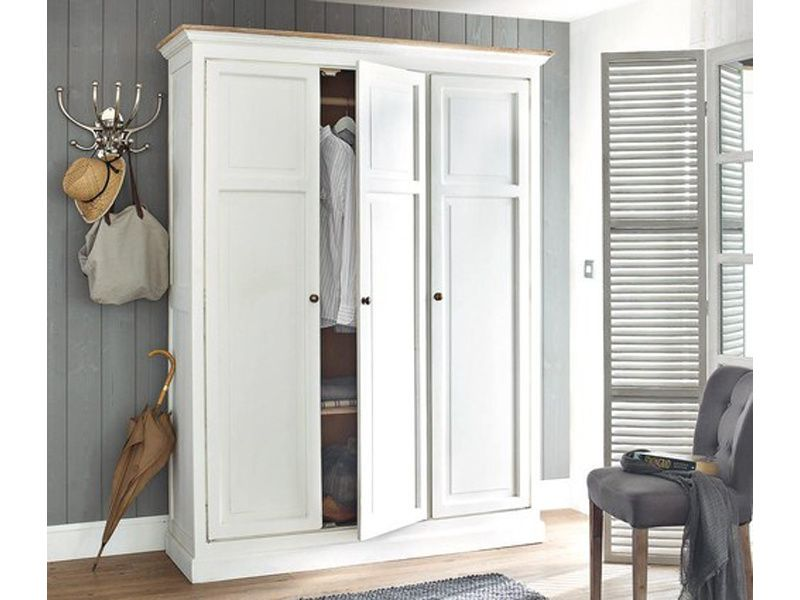 d co chambre armoire penderie en bois blanc fashion maman. Black Bedroom Furniture Sets. Home Design Ideas