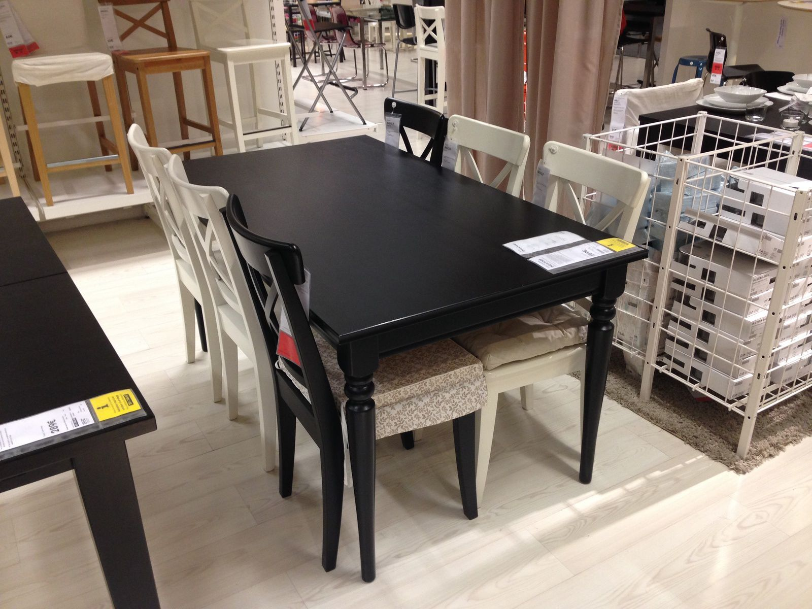 ob_e22ab6_table-ikea-ingatorp-noir Incroyable De Table Basse Lack Ikea