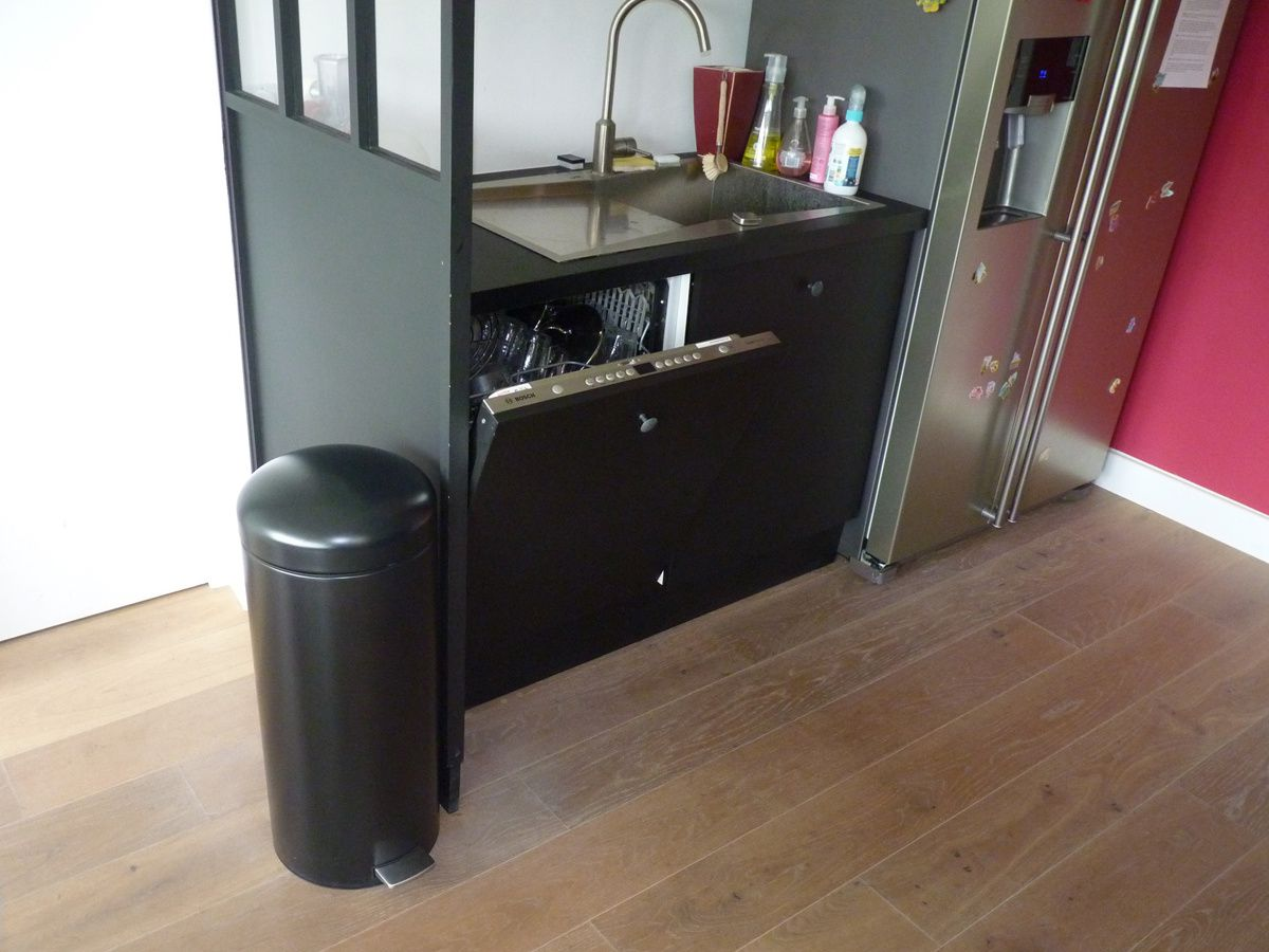belle poubelle brabantia retro bin dans ma cuisine. Black Bedroom Furniture Sets. Home Design Ideas