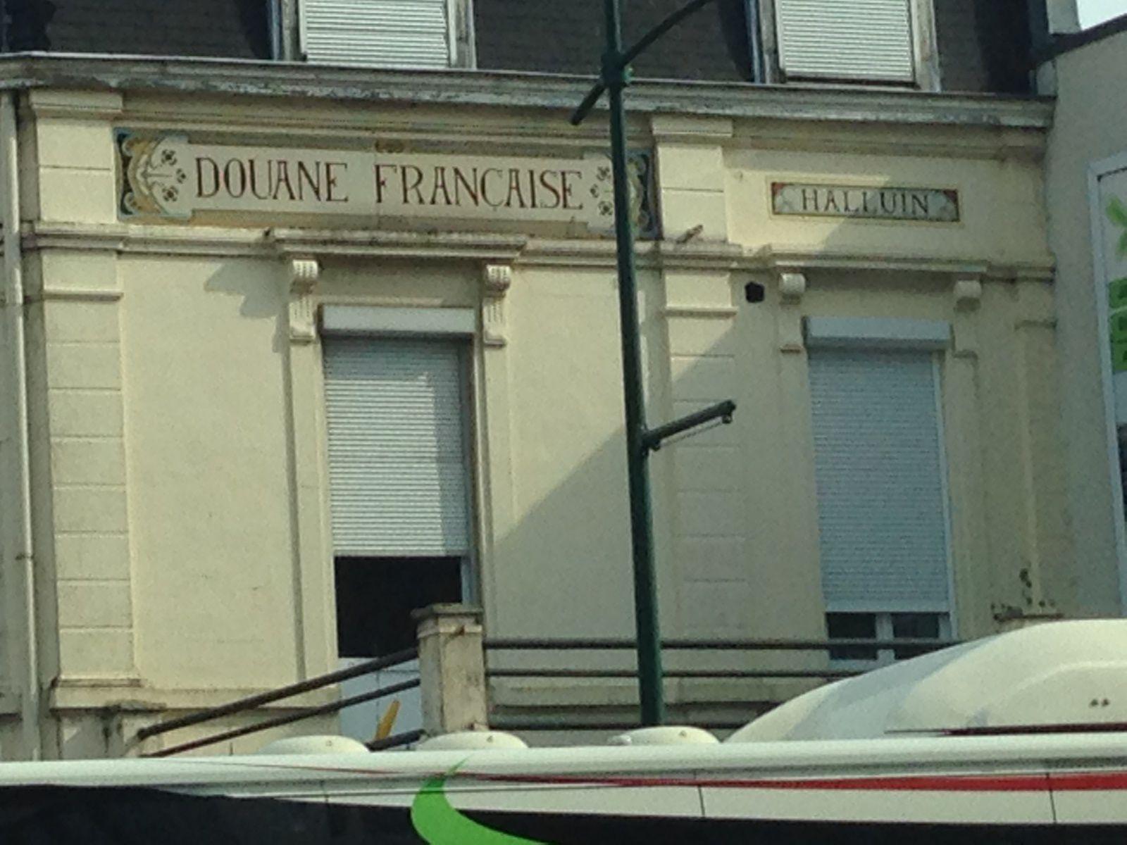 L'ancienne douane française à Halluin