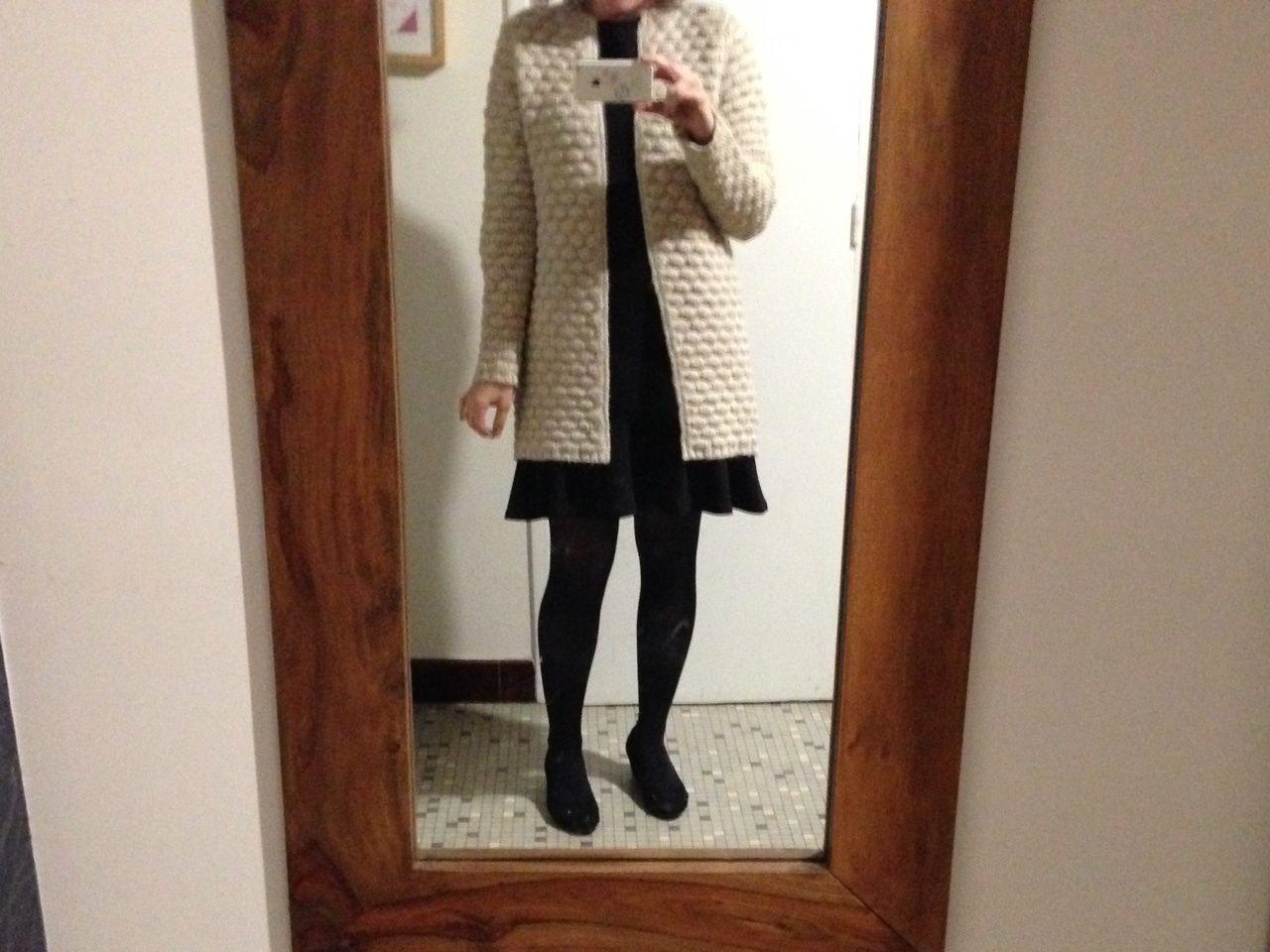 Sélection robe et long gilet chaud cardigan cachmire morpho 8 [blog mode] #Mango