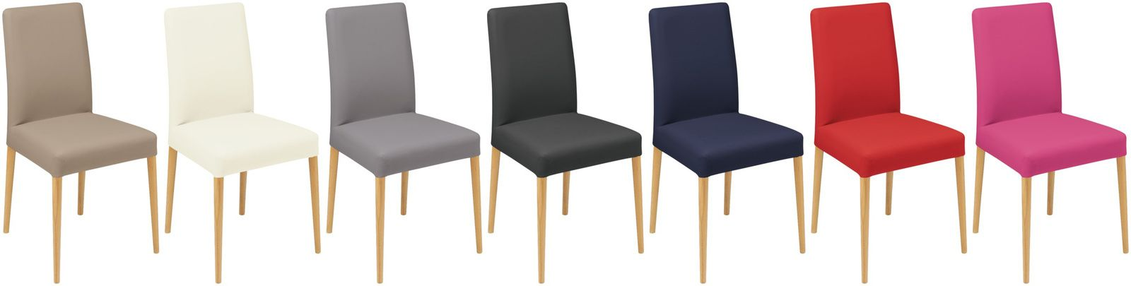 Cherche chaise scandinave pieds bois et assise tissu déhoussable