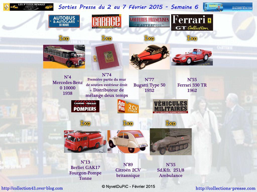 Sorties Semaine 2015-06