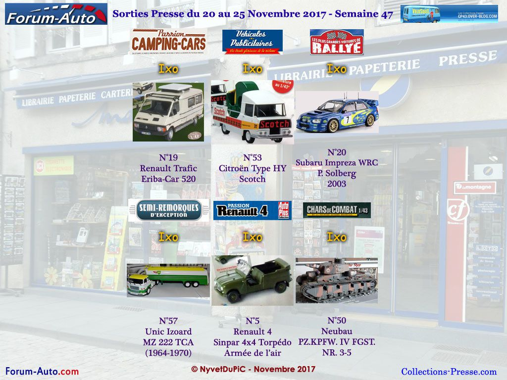 Altaya Collections Voitures Autos Post