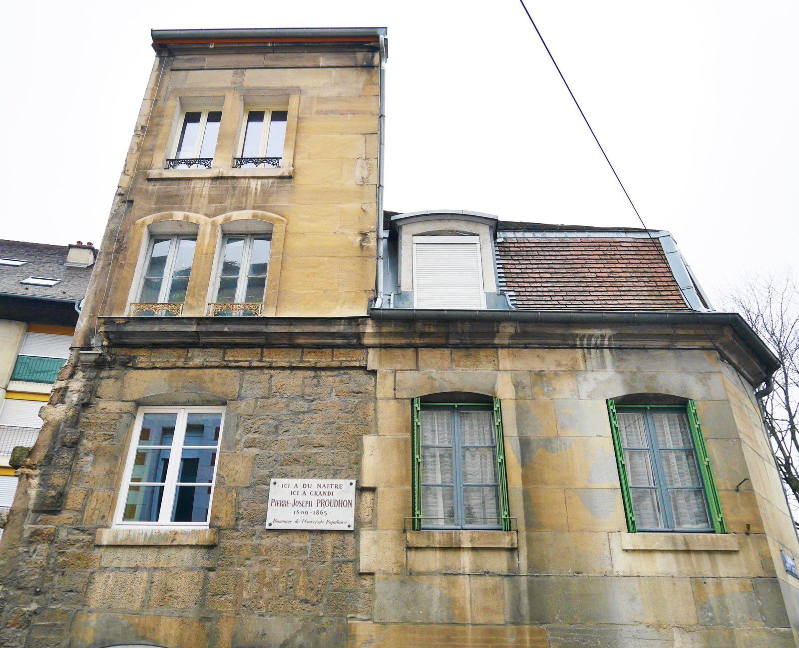 Maison natale de Proudhon