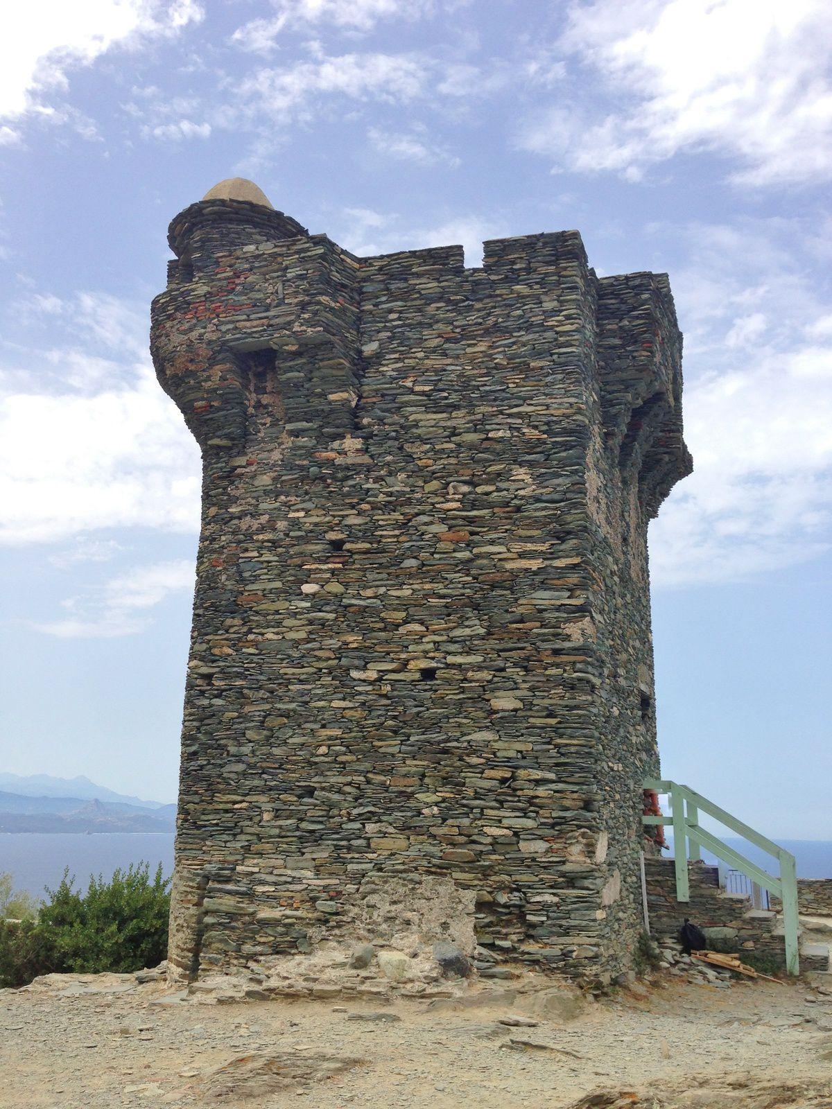 Pointe de la Parata, Golfe d'Ajaccio. Nonza, Cap Corse.