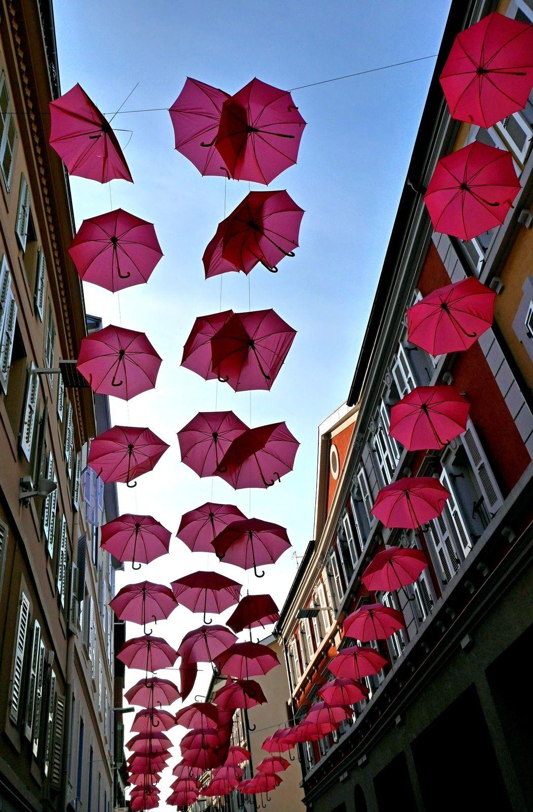 Les parapluies d'Evian