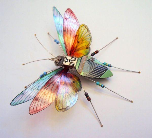 Julie Alice Chappell ou l'art de rendre beaux les composants informatiques