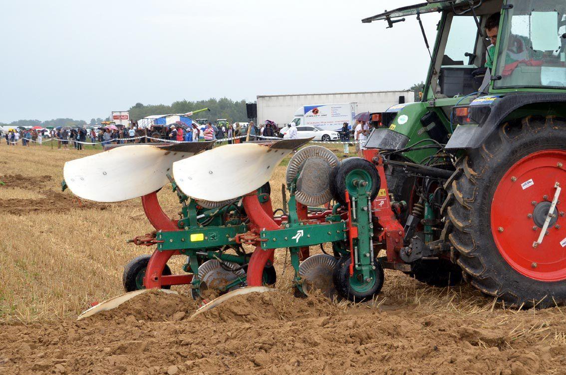 Le championnat de labours, vitrine de l'agriculture départementale