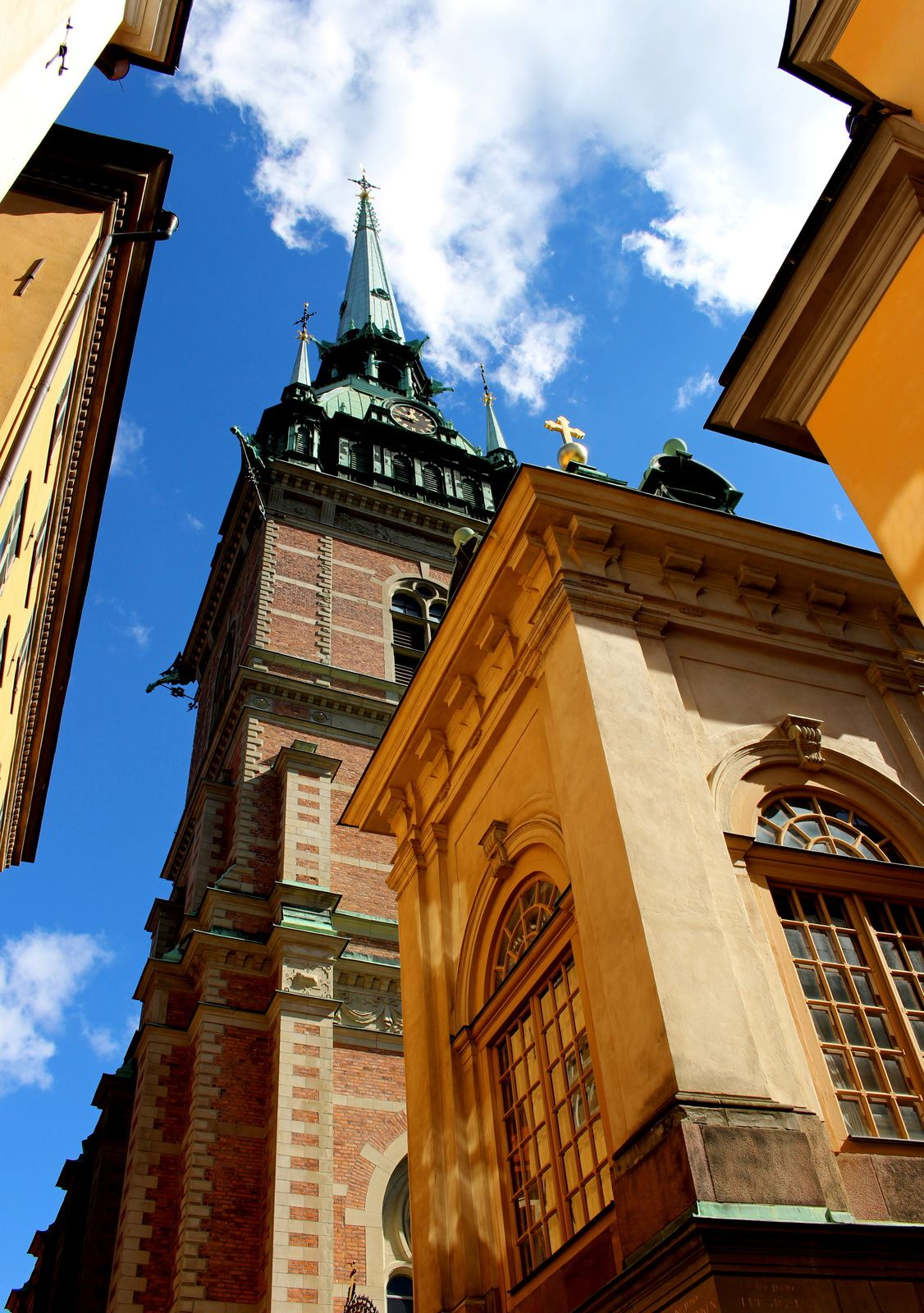 Stockholm, old town.