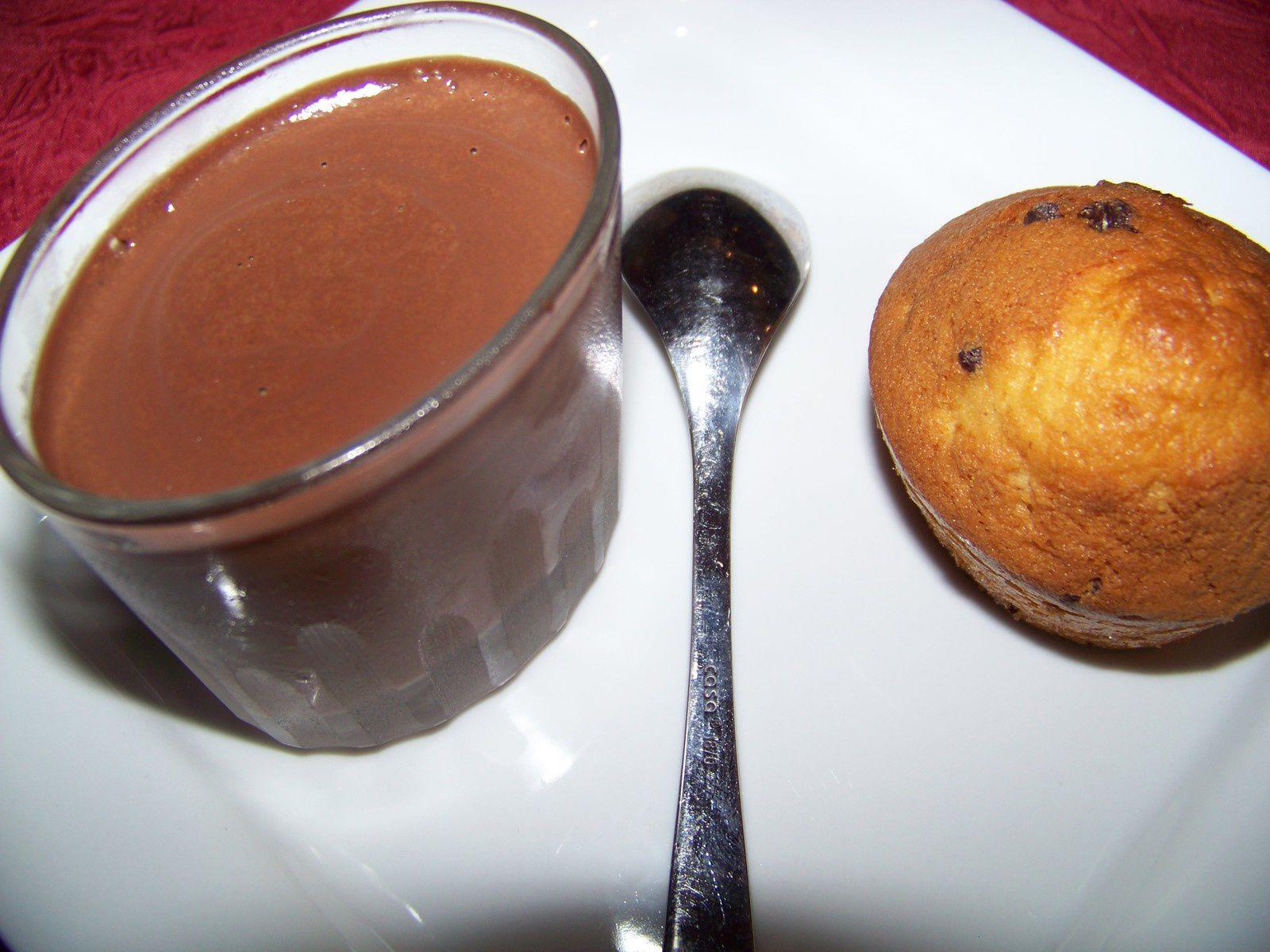 Cake aux pépites de chocolat.