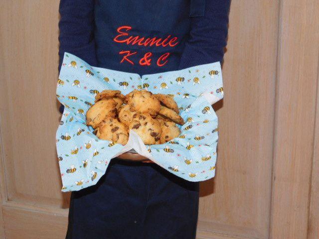 Cookies au chocolat.