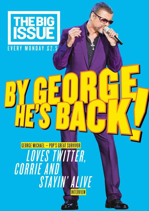 George Michael Interview exclusive dans Big Issue !!