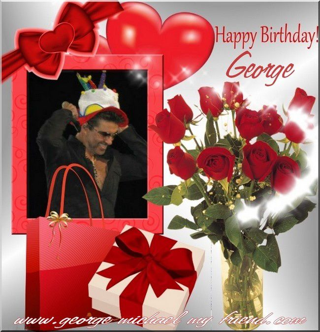 HAPPY BIRTHDAY GEORGE MICHAEL !!