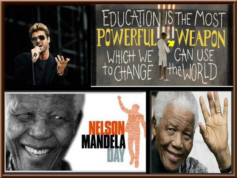 Le Héros de la lutte anti-apartheid !!!