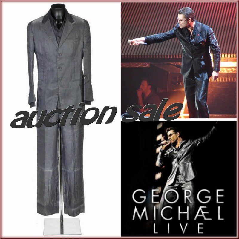 George Michael Auction of 25 Live stage costume !!