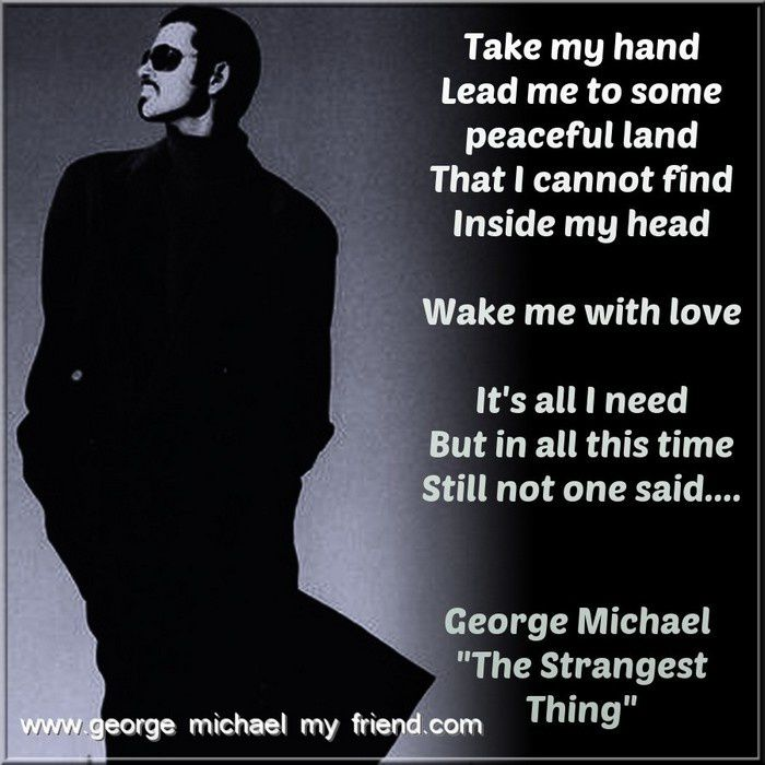 George Michael and the 20th anniversary of the album Older !!