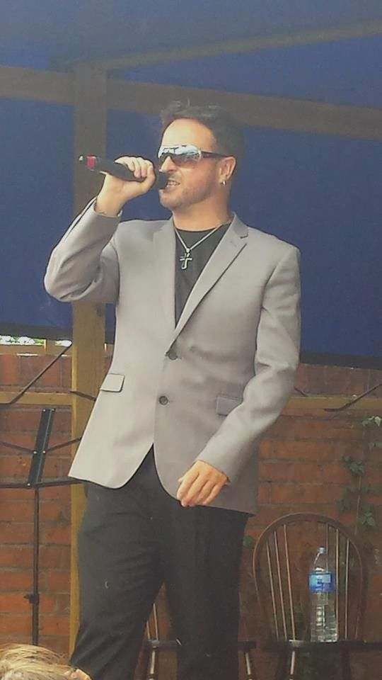 James Bermingham (singer George Michael Tribute)