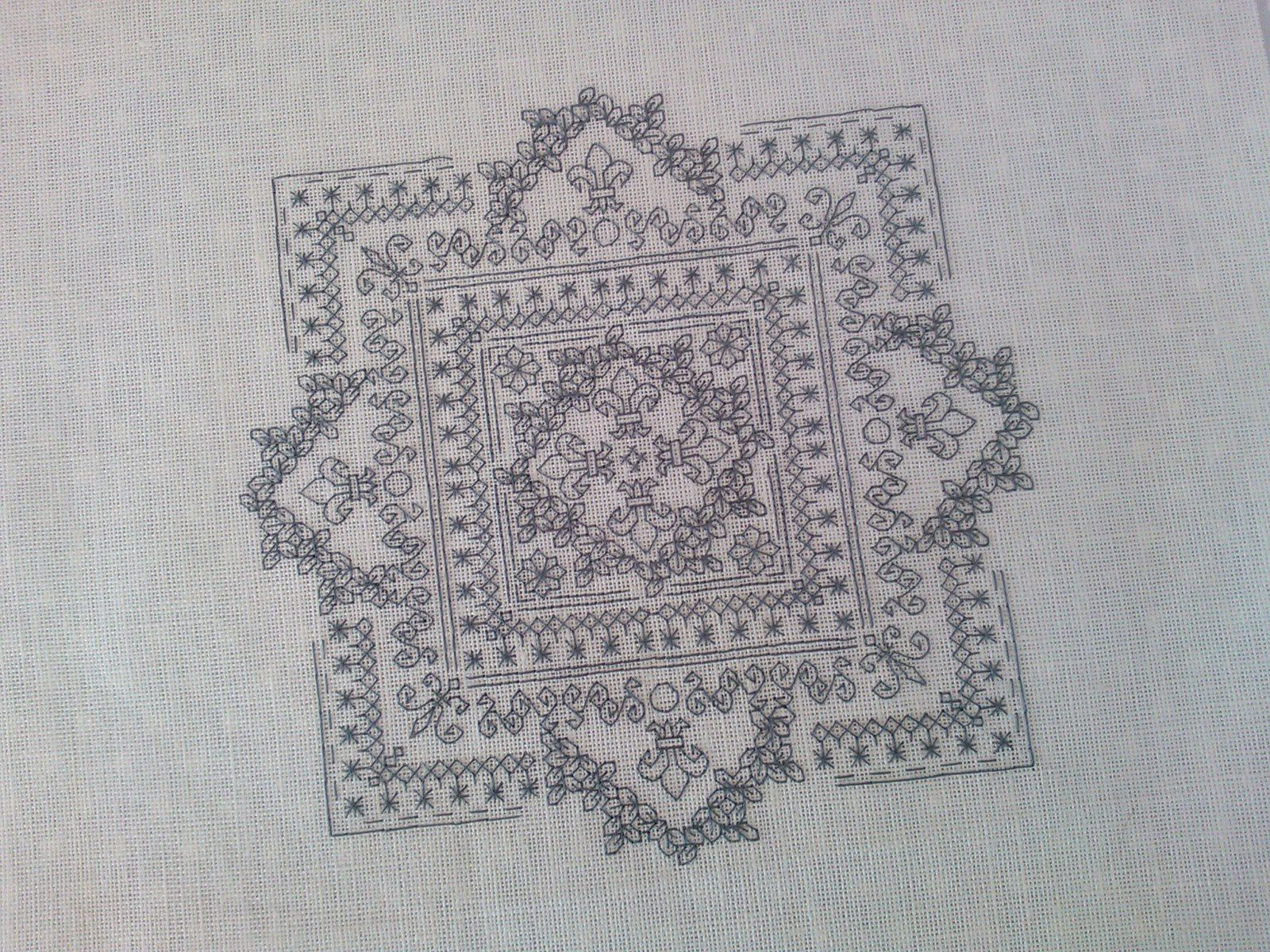 SAL blackwork....6 et fin