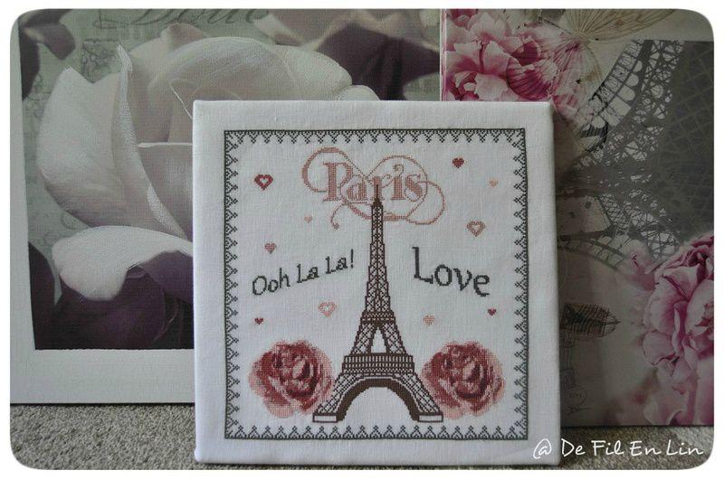 Sal I Love Paris.....matériel