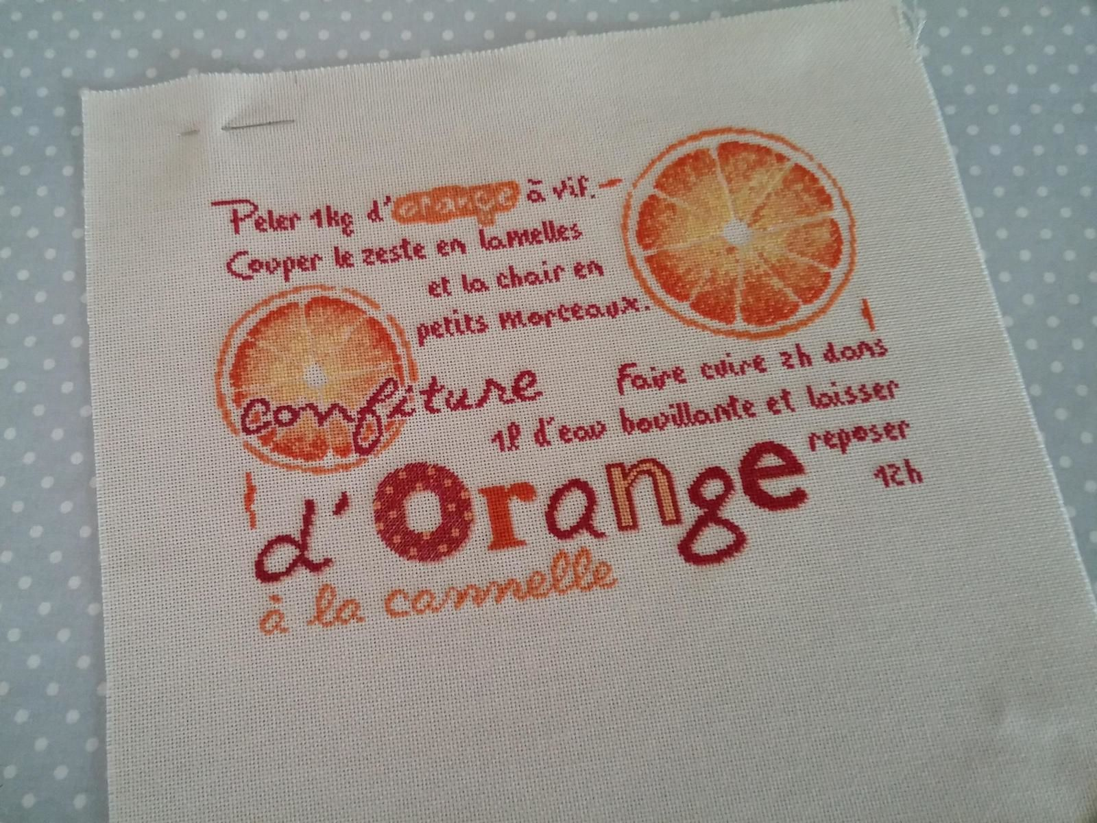 SAL LLP confiture d'orange.....8