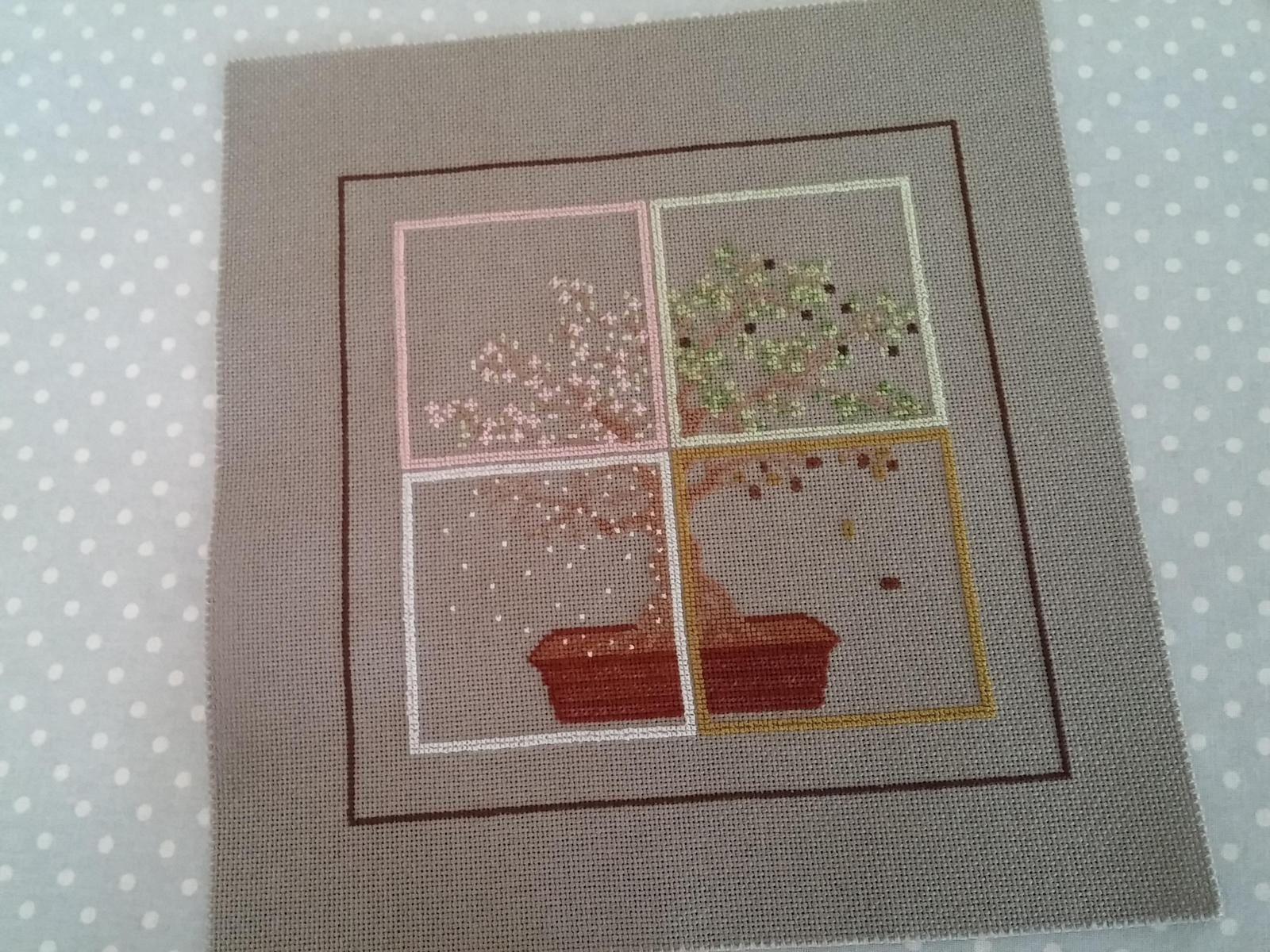L'arbre aux saisons....8 et fin et finition.....