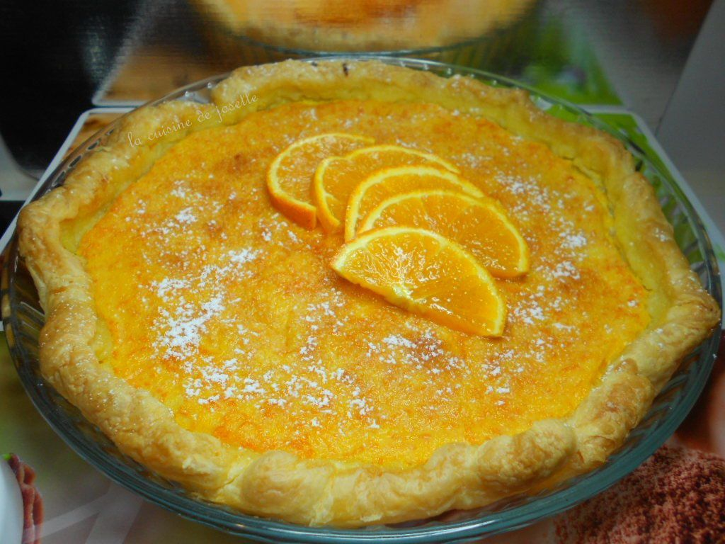 tarte a l'orange express