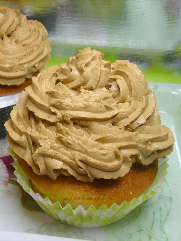 gâteau topping au mascarpone/ café