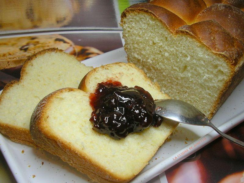 brioche au yaourt façon pain au lait