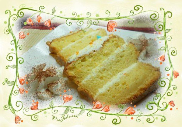 cake a l'orange et mascarpone