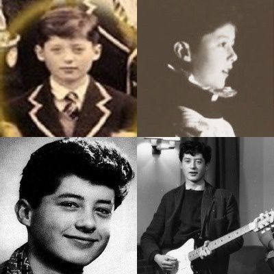 Jimmy Page, 50's - Childhood