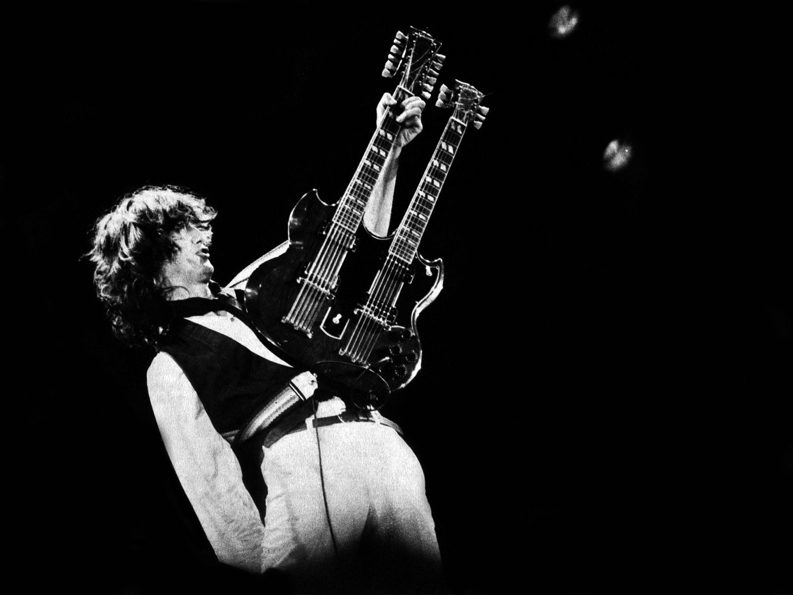 Jimmy Page, 1983 - A.R.M.S. Concert Oakland, Ca