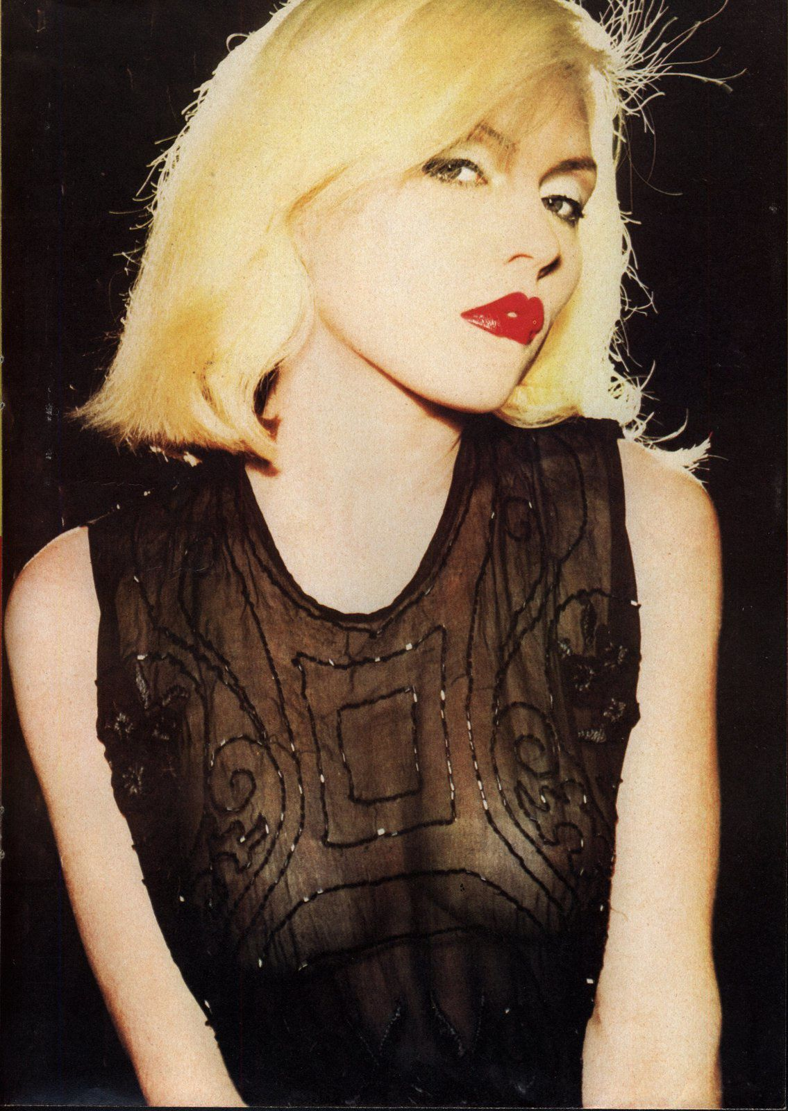 Blondie's Debbie Harry an Intimate Photo Portfolio' (Published in 1979)