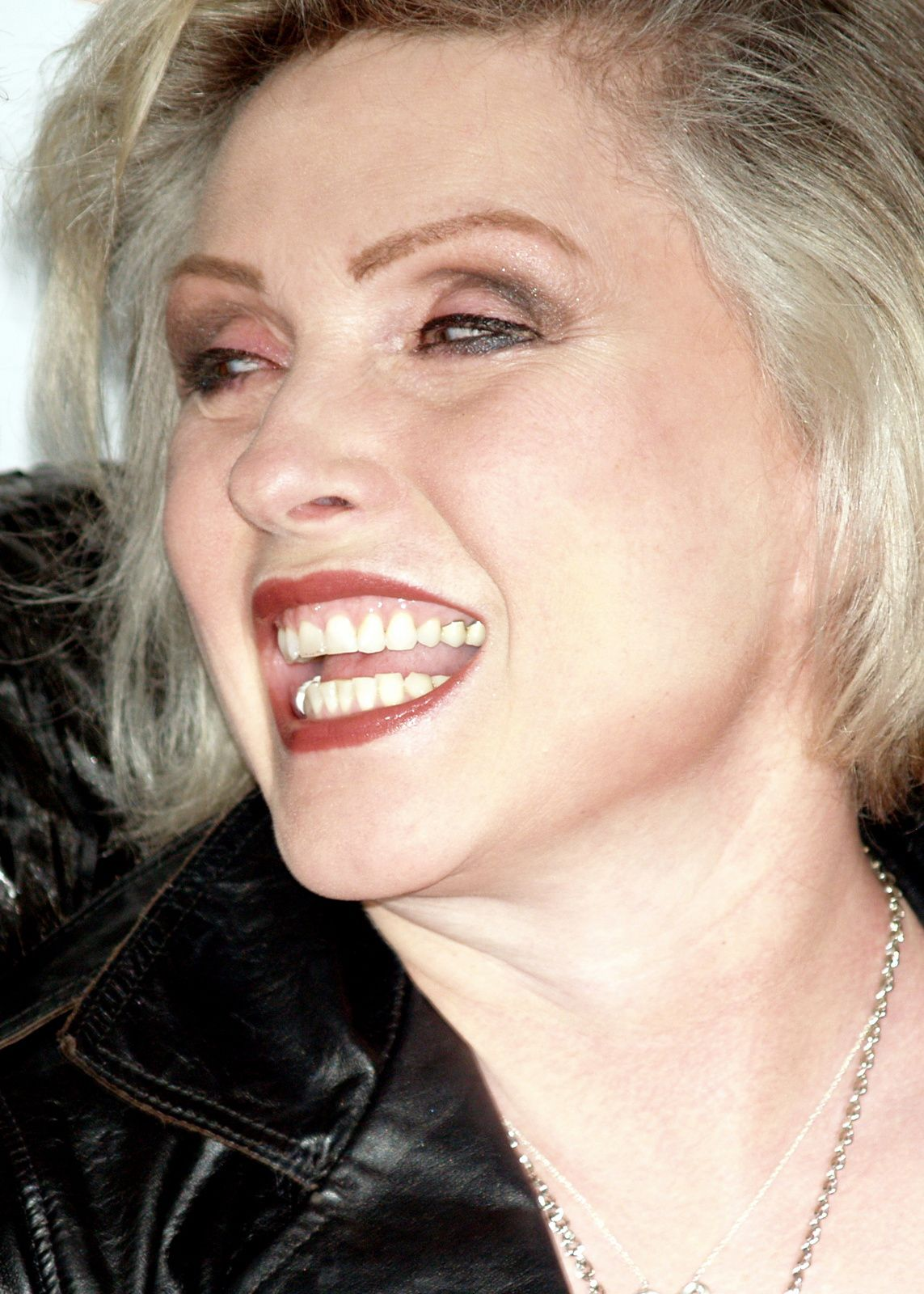 Debbie Harry, the singer of Blondie, 2008