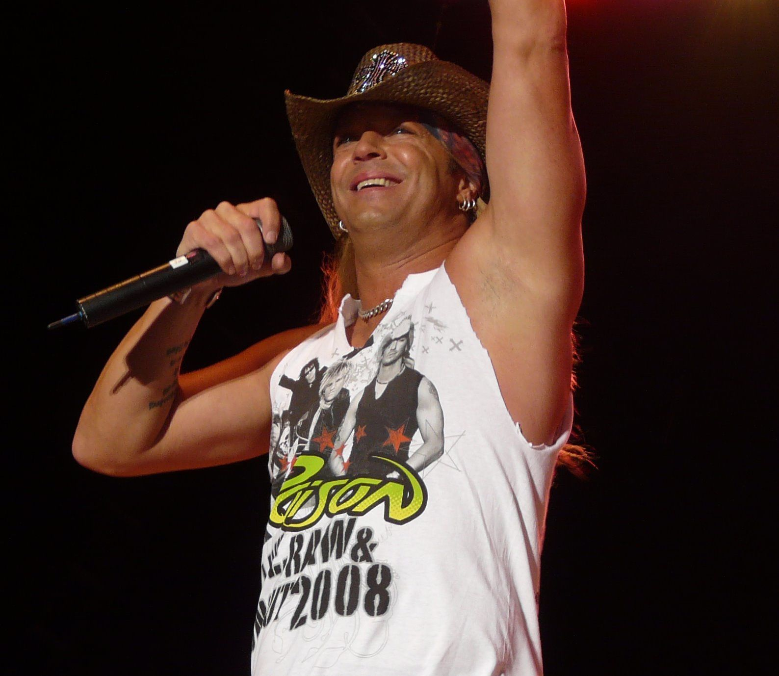 Bret Michaels - 2008, Jul. 11 - Live at the Moondance Jam (USA)
