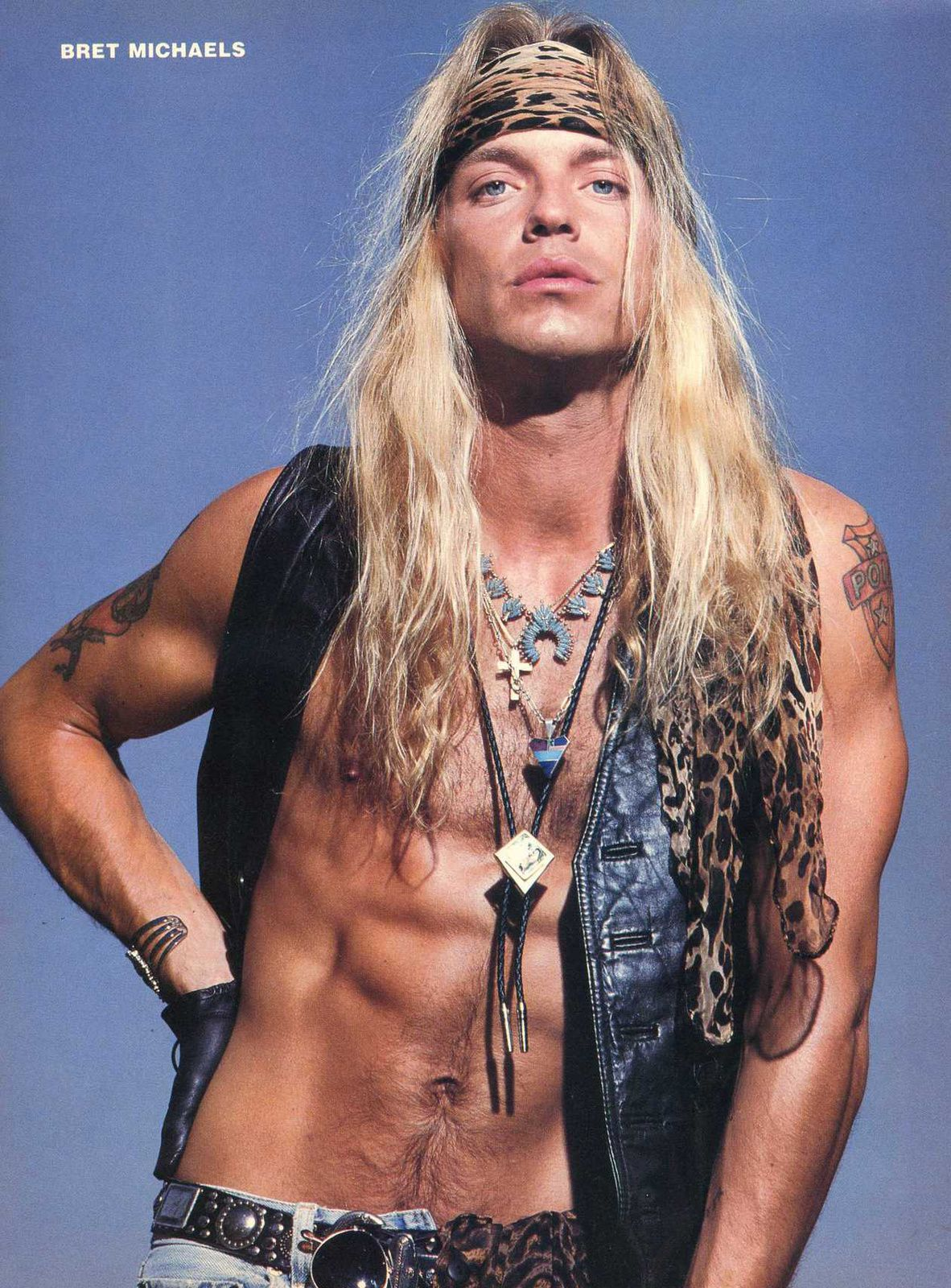 Bret Michaels - 80's