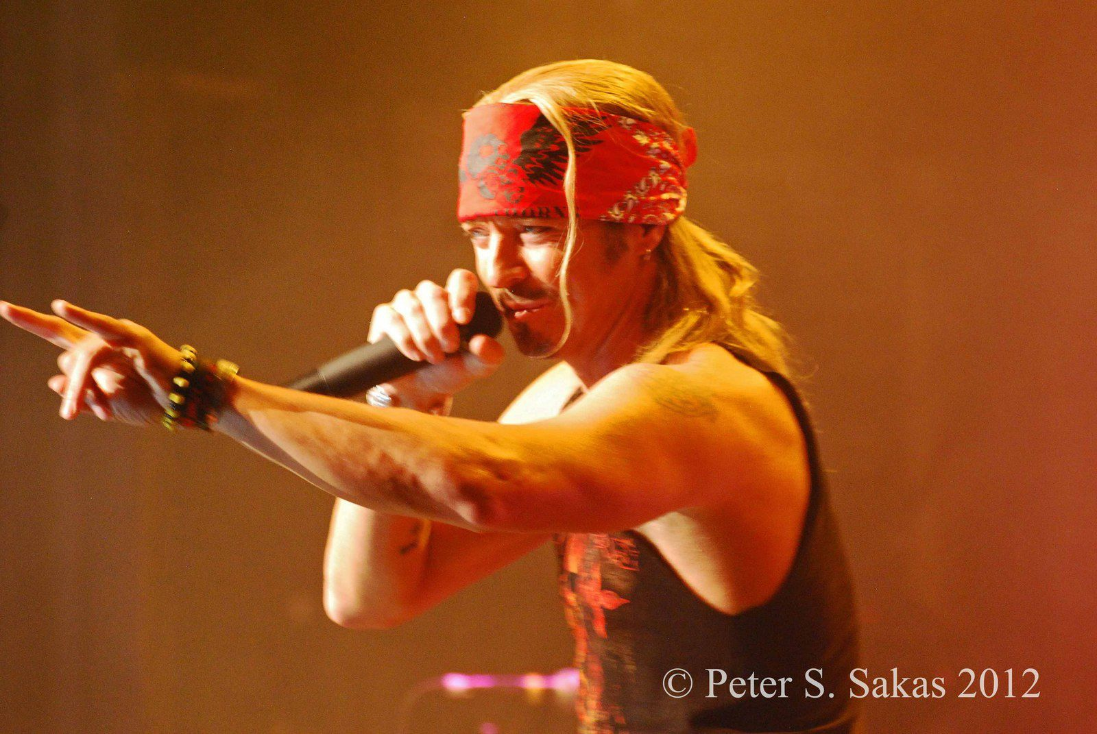 Bret Michaels - 2012 - Arcada Theater Chicago (USA) - photos by Peter S. Sakas