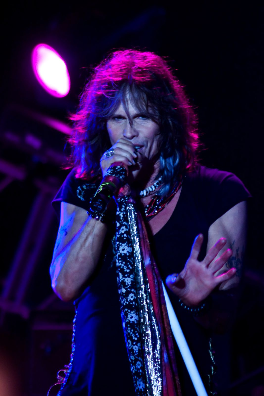 Steven Tyler - 2009, October 15 - San Francisco, California, US