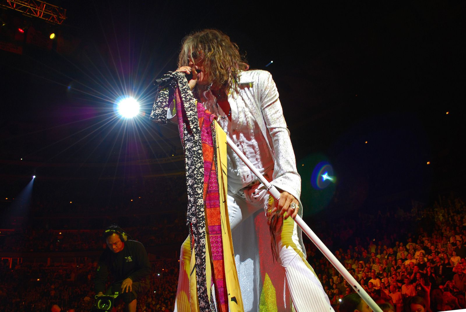 Steven Tyler - 2012, june 22 - concert performance at the United Center in Chicago, US