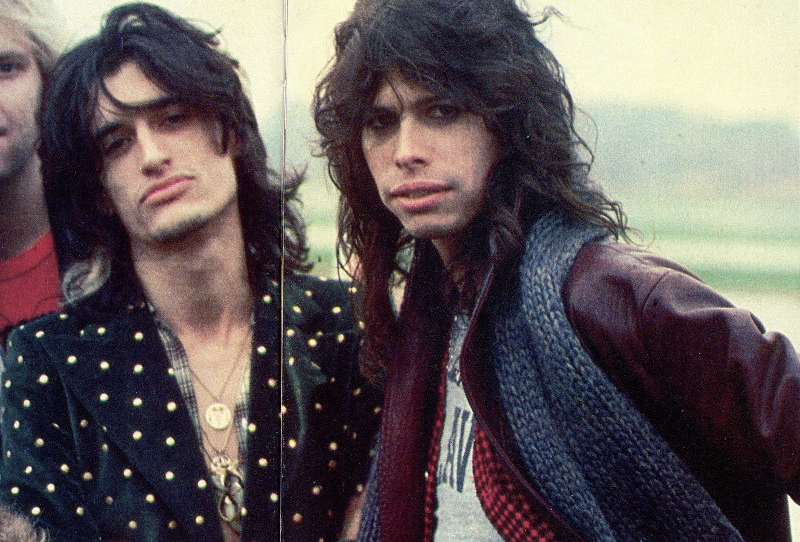Steven Tyler - 1970's - The Toxic Twins - Joe Perry