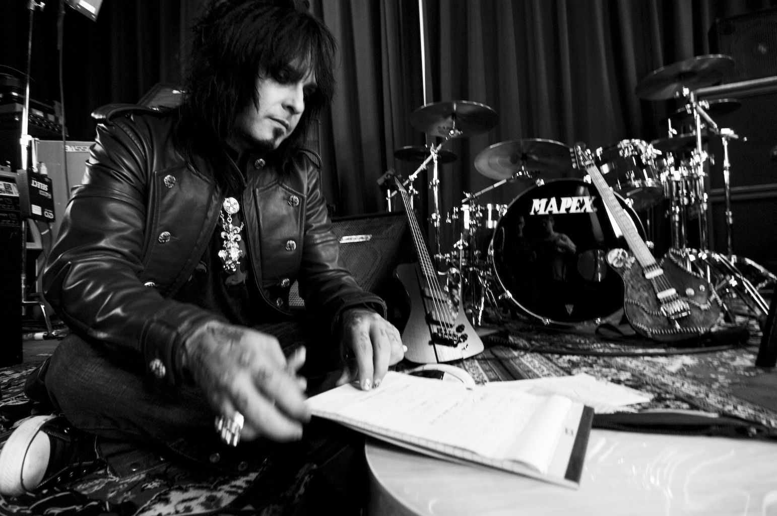 Nikki Sixx - 12 Apr 2007 - Main Songwriter of the Crue