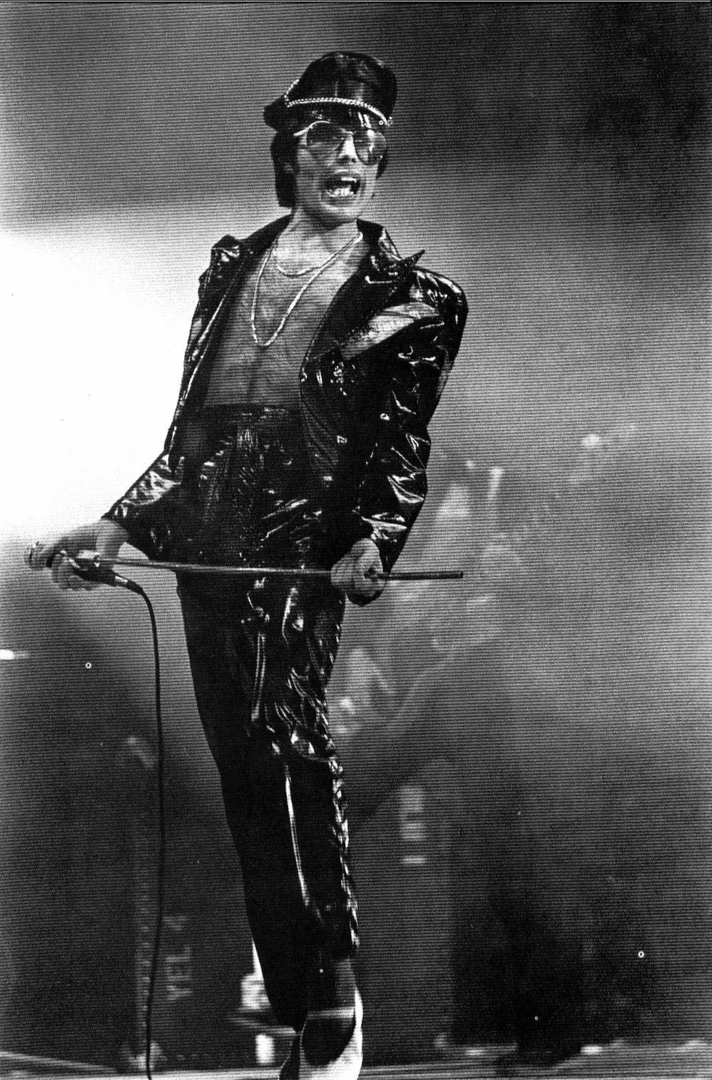 Freddie Mercury - in the late of the 70's