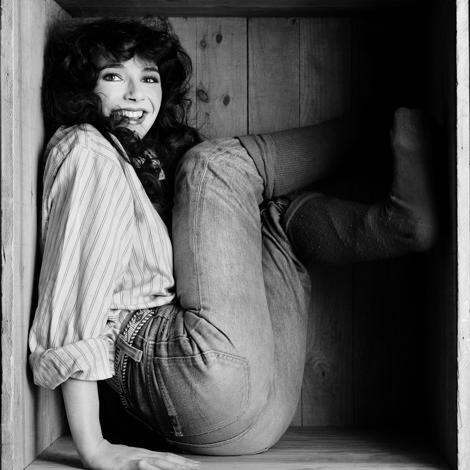Kate Bush - 1978 - credit: Gered mankowitz