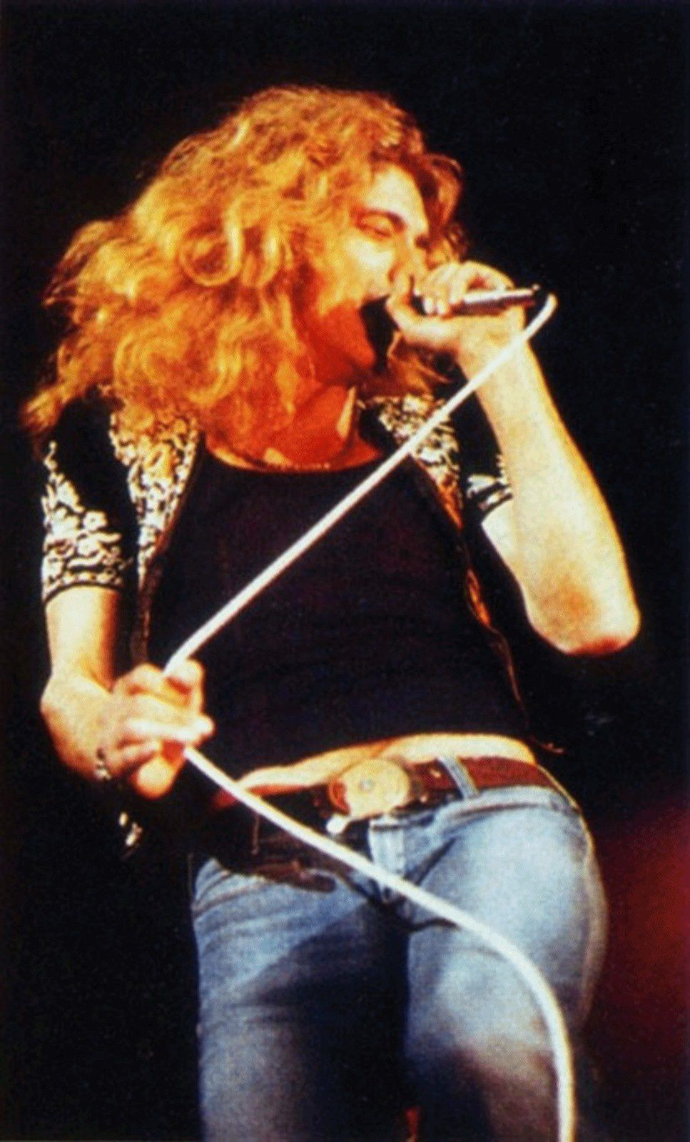 Robert Plant - On stage