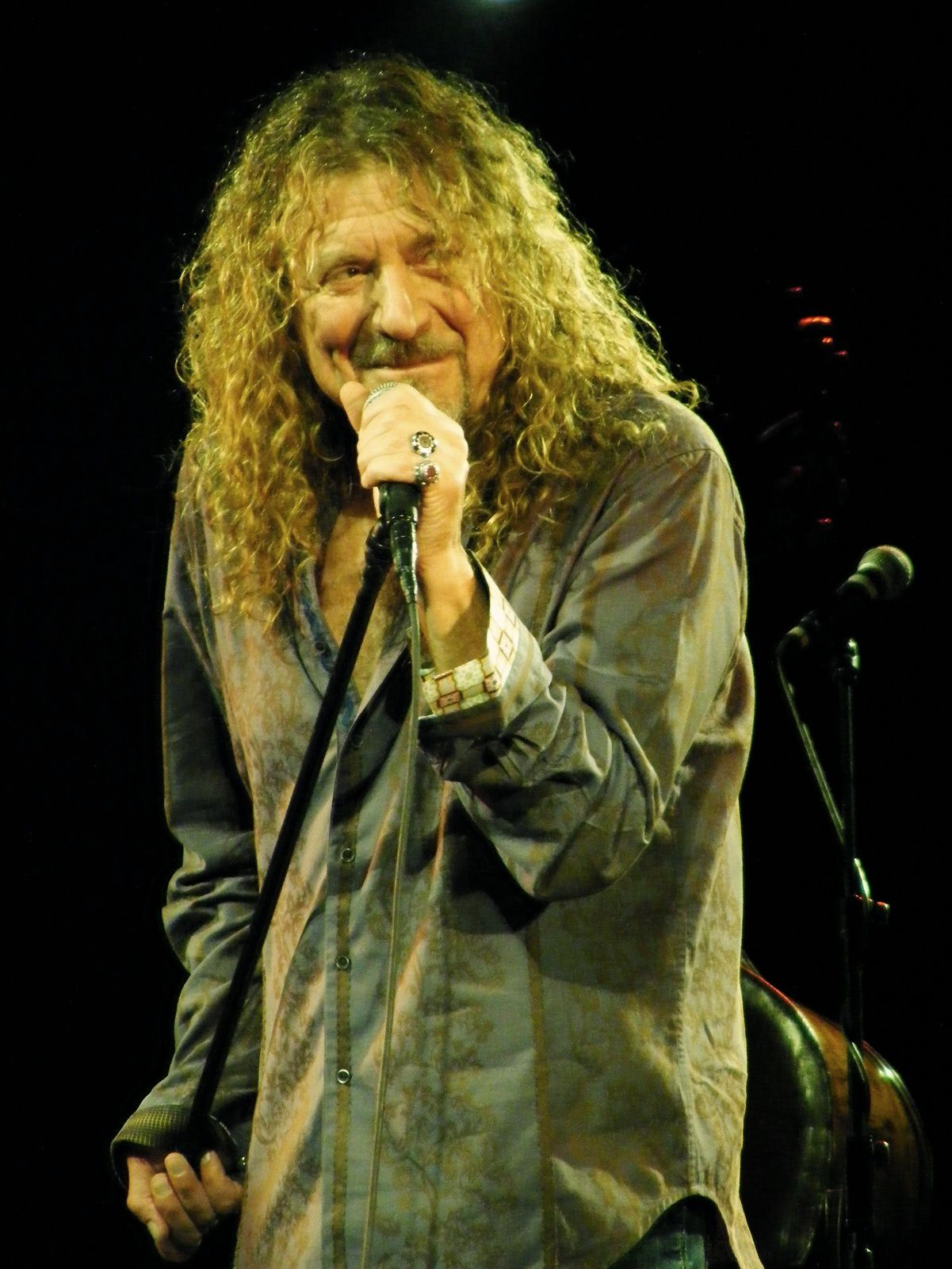 Robert Plant - 31 oct. 2010 - at the Palace Theatre, Manchester (UK)