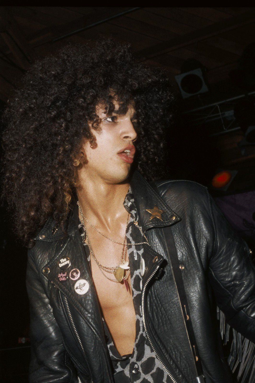 Slash - February 28, 1986 - Photo by Marc Canter