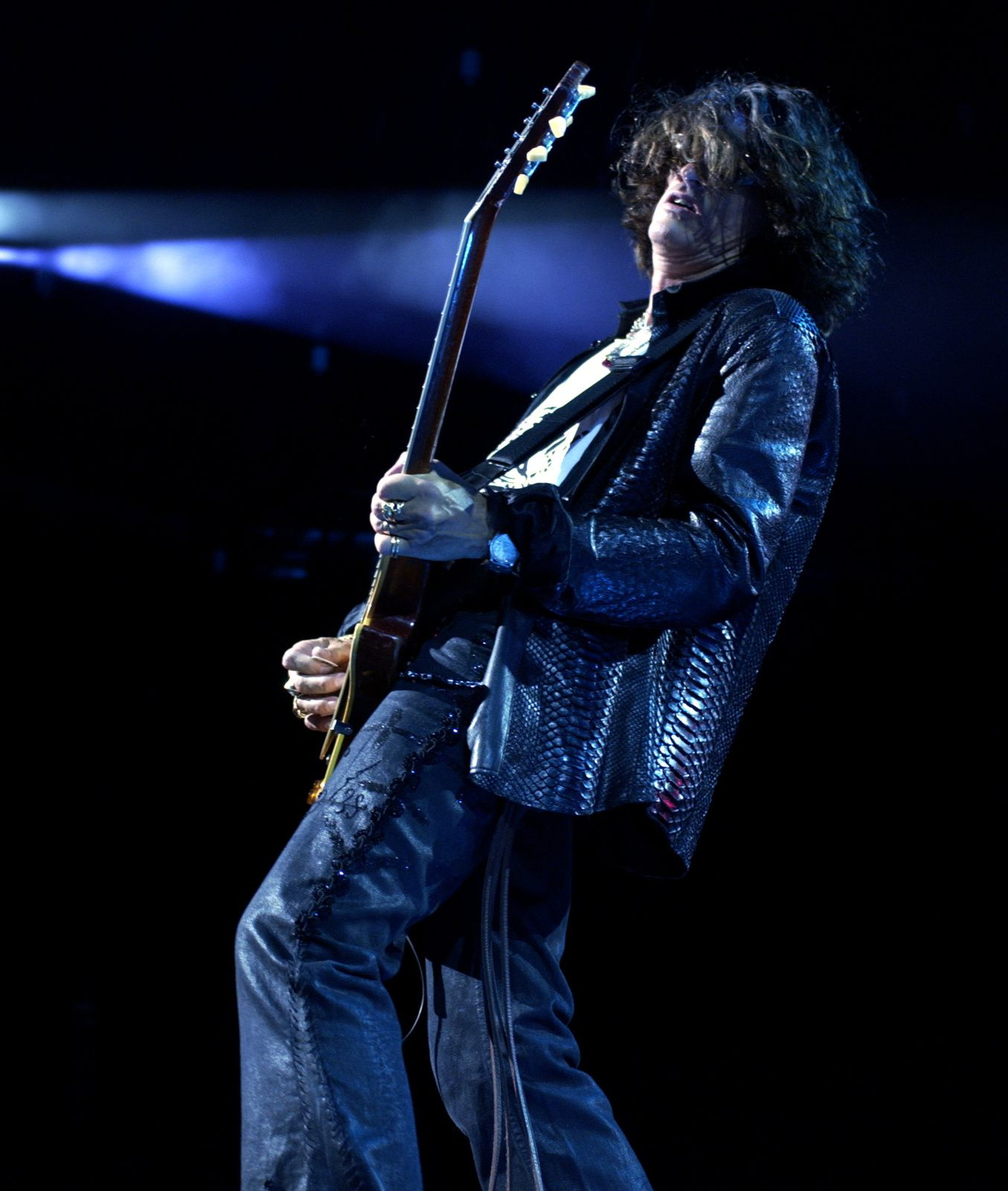 Joe Perry - 2009 - Croc Rock AEROSMITH KISS TOUR