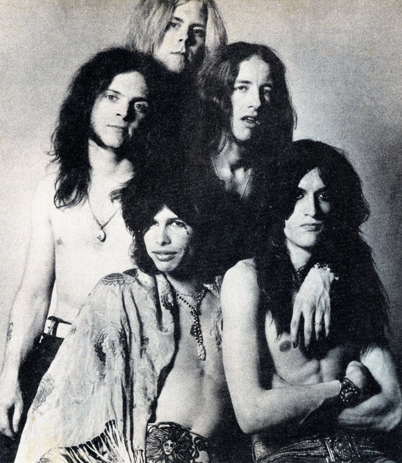 Joe Perry - January 1, 1970 - First official Aerosmith publicity shot