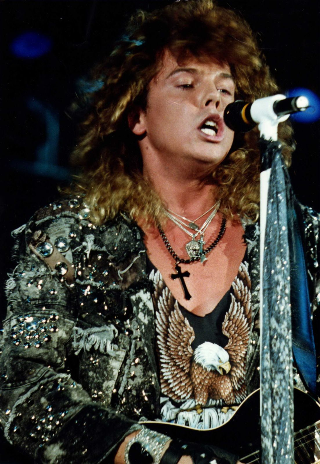Joey Tempest - On stage